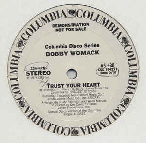 Bobby Womack - Trust Your Heart