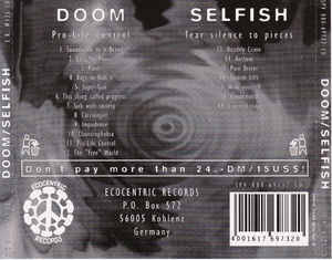 Doom (2) - Pro-Life Control / Tear Silence To Pieces