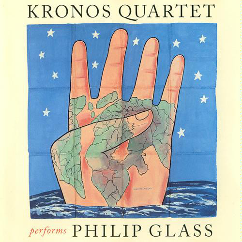 Philip Glass, Kronos Quartet - Kronos Quartet Performs Philip Glass cover of release