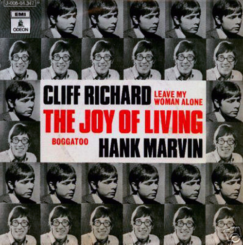Cliff Richard - The Joy Of Living cover of release