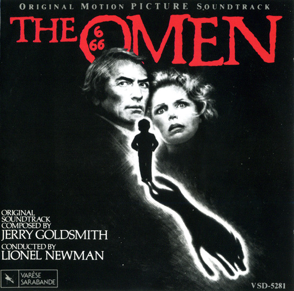 Jerry Goldsmith - The Omen - Original Motion Picture Soundtrack cover of release
