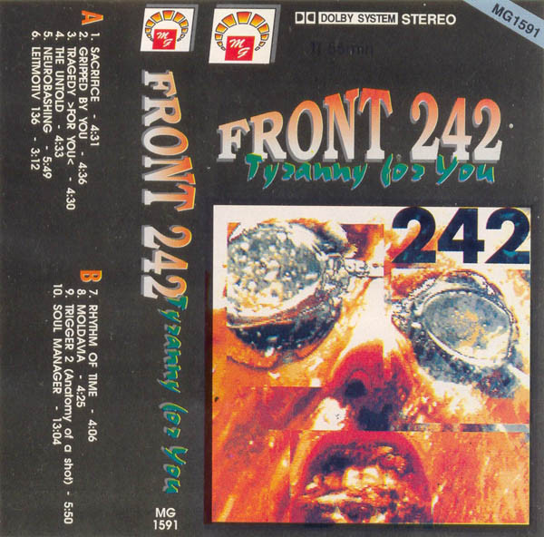 Front 242 - Tyranny For You cover of release
