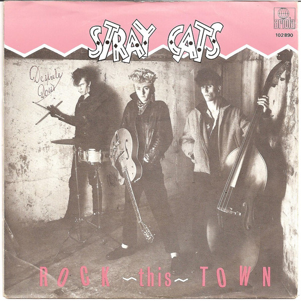 Stray Cats - Rock This Town cover of release