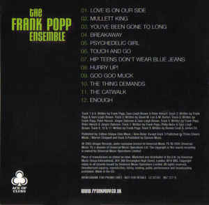 Frank Popp Ensemble, The - The Frank Popp Ensemble