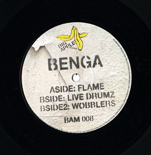 Benga - Invasion cover of release
