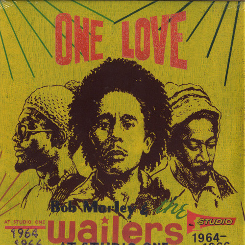 Bob Marley & The Wailers - One Love At Studio One (1964-1966) cover of release