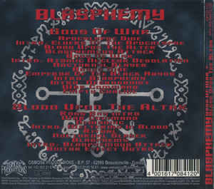 Blasphemy (2) - Gods Of War + Blood Upon The Altar
