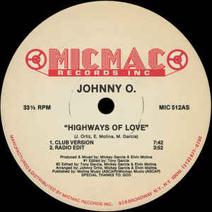 Johnny O - Highways Of Love