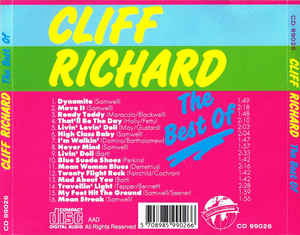 Cliff Richard - The Best Of Cliff Richard