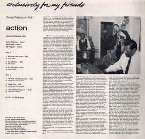 Oscar Peterson Trio, The - Exclusively For My Friends Vol. I - Action
