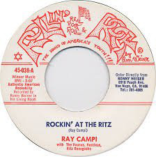 Ray Campi - Rockin' At The Ritz cover of release