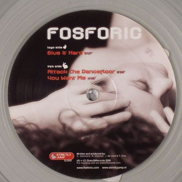 Fosforic - Give It Hard cover of release