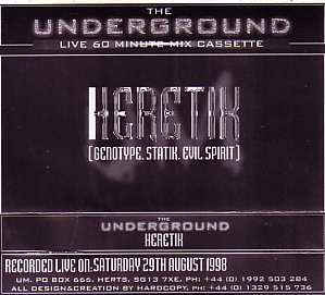 Heretik (2) - The Underground Live 60 Minute LIVE PA Cassette