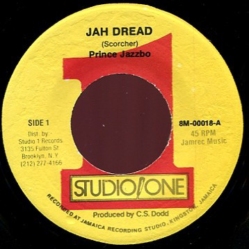 Prince Jazzbo, Beltones, The - Jah Dread / Soul People cover of release