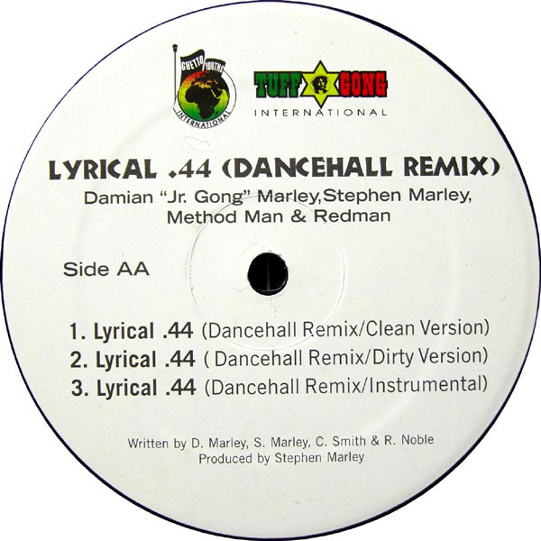 Damian Marley - Welcome To Jamrock / Lyrical .44 (Dancehall Remix) cover of release