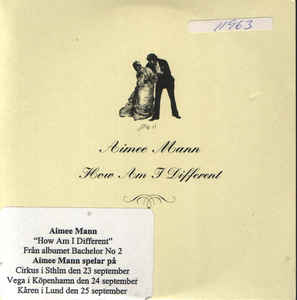 Aimee Mann - How Am I Different