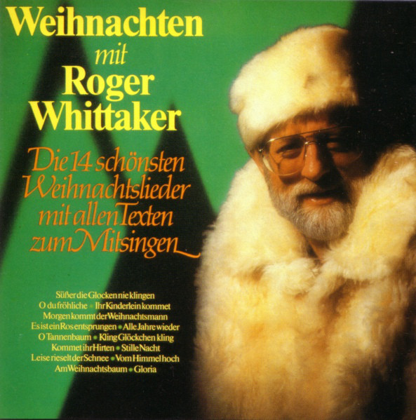Roger Whittaker - Weihnachten Mit Roger Whittaker cover of release