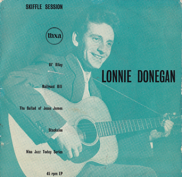 Lonnie Donegan's Skiffle Group - Lonnie Donegan Skiffle Session cover of release