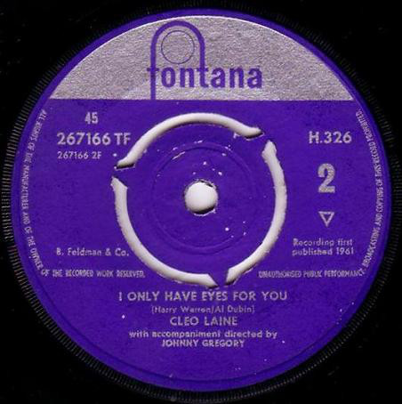 Cleo Laine - You'll Answer To Me cover of release