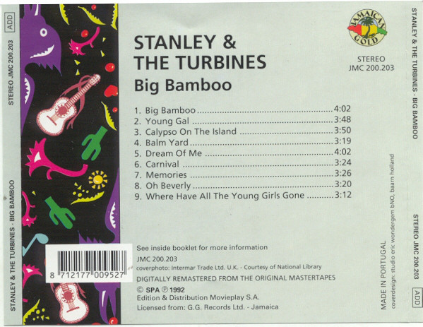 Stanley And The Turbines - Big Bamboo cover of release
