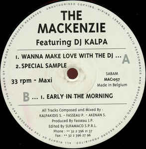 Mackenzie, The - Wanna Make Love With The DJ
