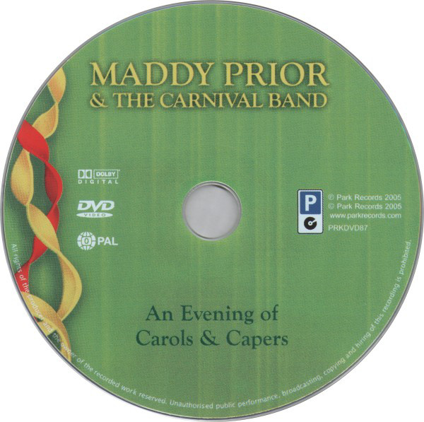 Maddy Prior & The Carnival Band - An Evening Of Carols & Capers cover of release