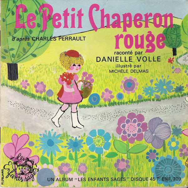 Danielle Volle - Le Petit Chaperon Rouge cover of release