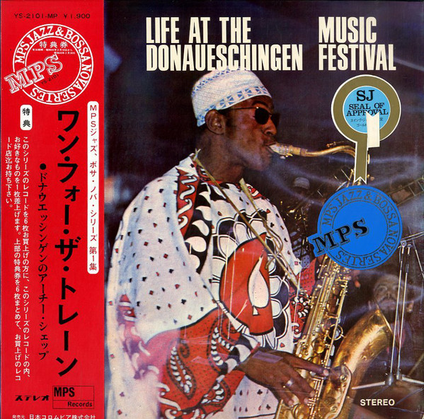 Archie Shepp - Life At The Donaueschingen Music Festival cover of release