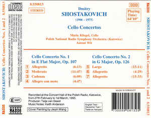 Dmitri Shostakovich - Cello Concertos Nos. 1 And 2