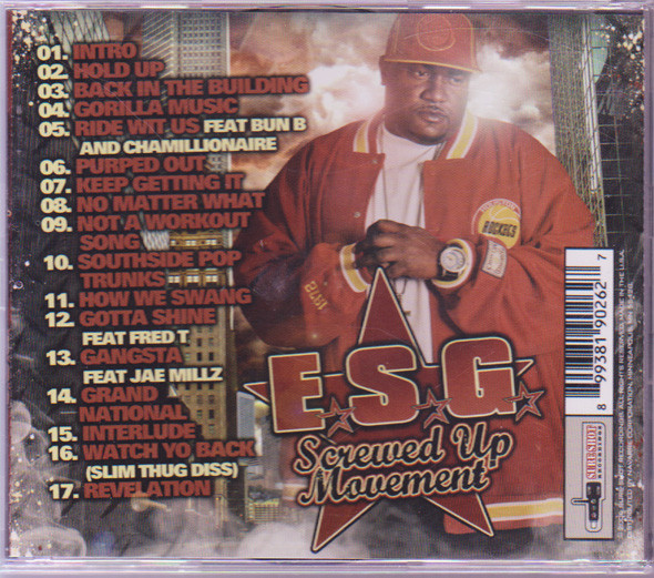 E.S.G. (2) - Screwed Up Movement cover of release