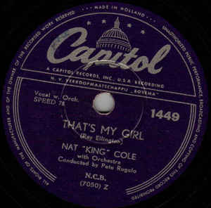 Nat King Cole - That's My Girl