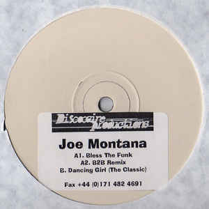 Joe Montana - Bless The Funk