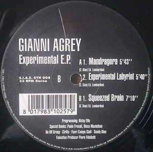 Gianni Agrey - Experimental E.P.