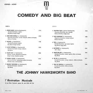 Johnny Hawksworth Band, The - Comedy And Big Beat