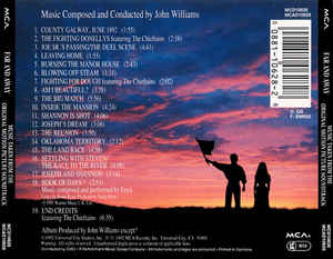 John Williams (4) - Far And Away (Original Motion Picture Soundtrack)
