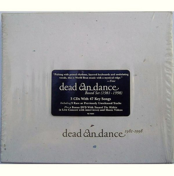 Dead Can Dance - 1981-1998 cover of release