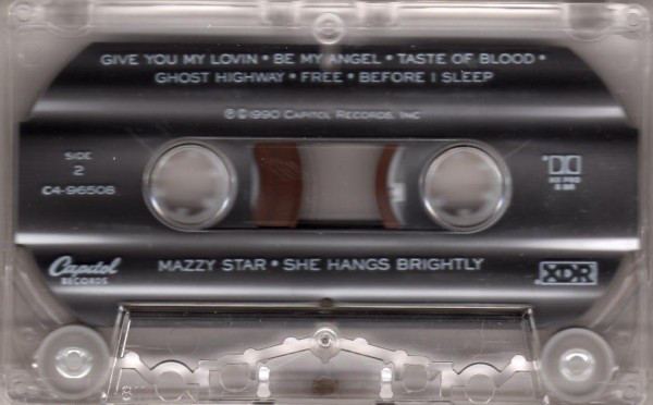 Mazzy Star - She Hangs Brightly cover of release