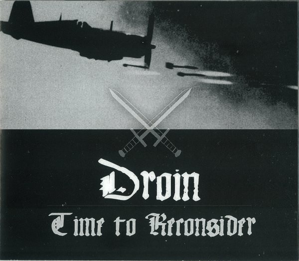 Droin - Time To Reconsider cover of release