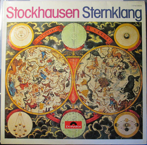 Karlheinz Stockhausen - Sternklang cover of release