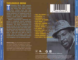 Thelonious Monk - Ken Burns Jazz
