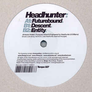 Headhunter (9) - Futurebound / Descent / Entity