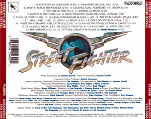 Graeme Revell - Street Fighter (Original Motion Picture Score)