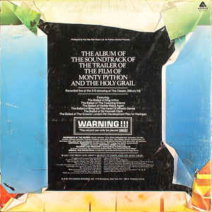 Monty Python - The Album Of The Soundtrack Of The Trailer Of The Film Of Monty Python And The Holy Grail (Executive Version)