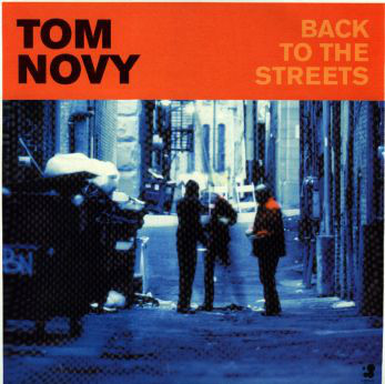 Tom Novy - Back To The Streets cover of release